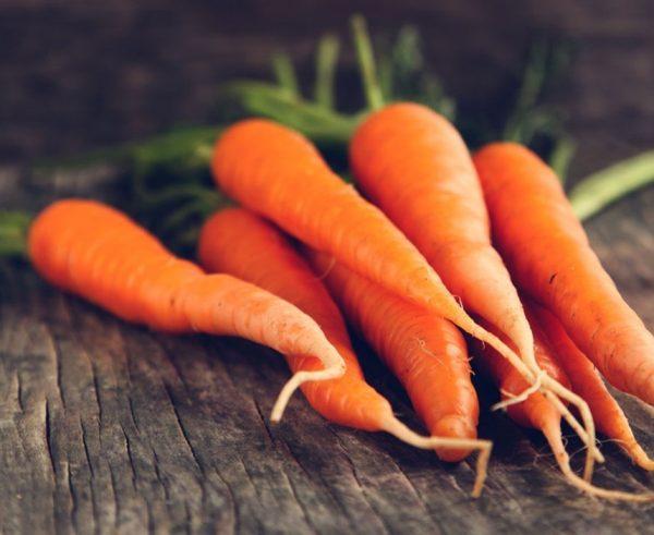 beta brightener cleanser carrots