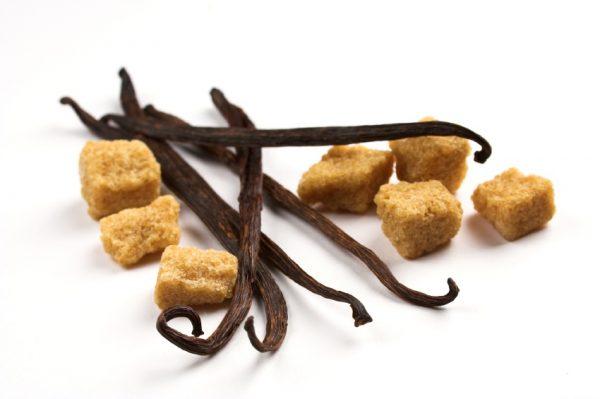 brown sugar and vanilla scrub