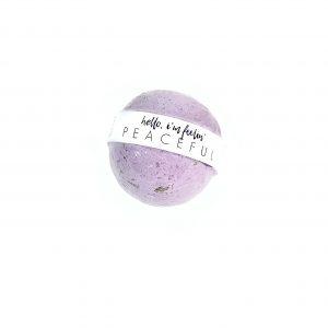 peaceful bath bomb