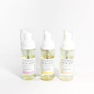 foaming facial soap