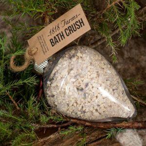 Holiday Bath Crush Ornament - Lavender
